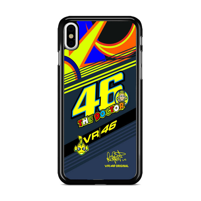 The Doctor Vr 46 Wallpaper Iphone Xs Max Case Miloscase