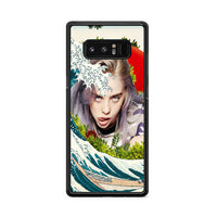 Billie Eilish Japan Waves_ Samsung Galaxy Note 8 Case