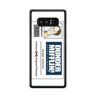Dunder Mifflin Dwight Samsung Galaxy Note 8 Case