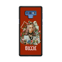 Billie Eilish Many Flowers_ Samsung Galaxy Note 9 Case