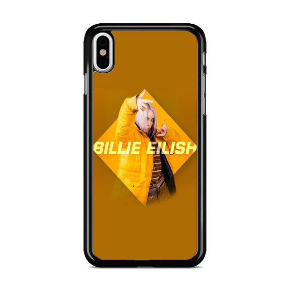 Billie Eilish Yellow Cool Teen Girl_ iPhone XS Case