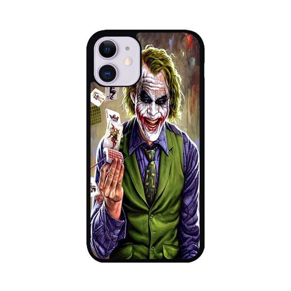 joker and joker card laugh iPhone 11 Case