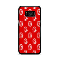 Billionare Boys Club Red Background_ Samsung Galaxy S8 Plus Case