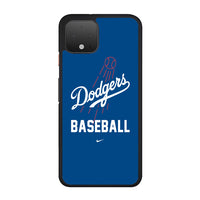 Dodgers Baseball Team Google Pixel 4 Case