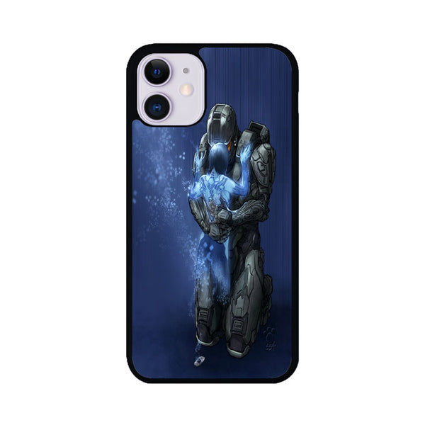 Master Chief And Cortana Art Halo Games iPhone 11 Case