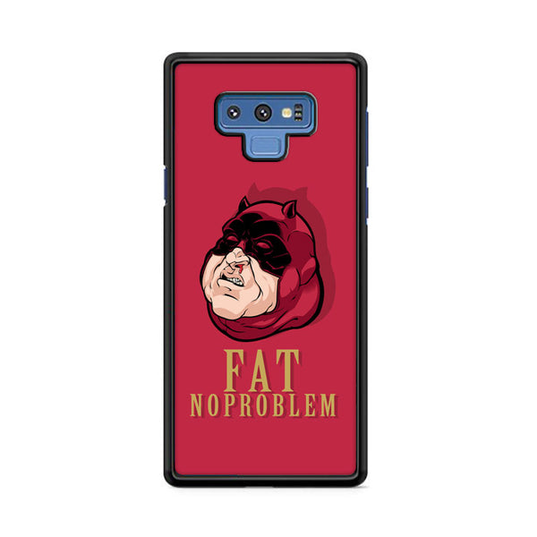 Fat Daredevil Hero Noproblem Samsung Galaxy Note 9 Case