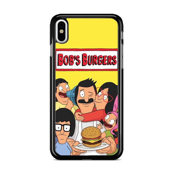 Bobs Burgers Cartoon_ iPhone X Case