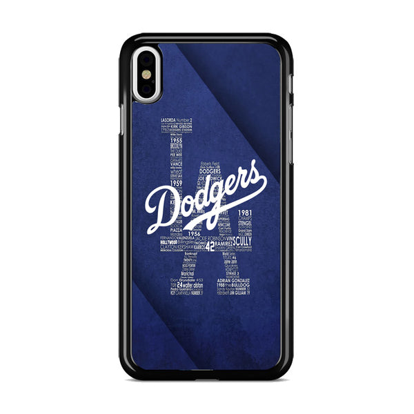 La Dodgers iPhone X Case