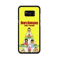 Bobs Burgers Food Pyramid_ Samsung Galaxy S8 Plus Case