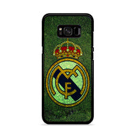 Fc Real Madrid Grass Texture Samsung Galaxy S8 Case