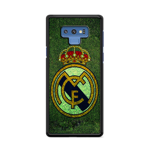 Fc Real Madrid Grass Texture Samsung Galaxy Note 9 Case