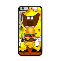 Spongebob Squarepants And Krabby Patty iPhone 6|6S Case