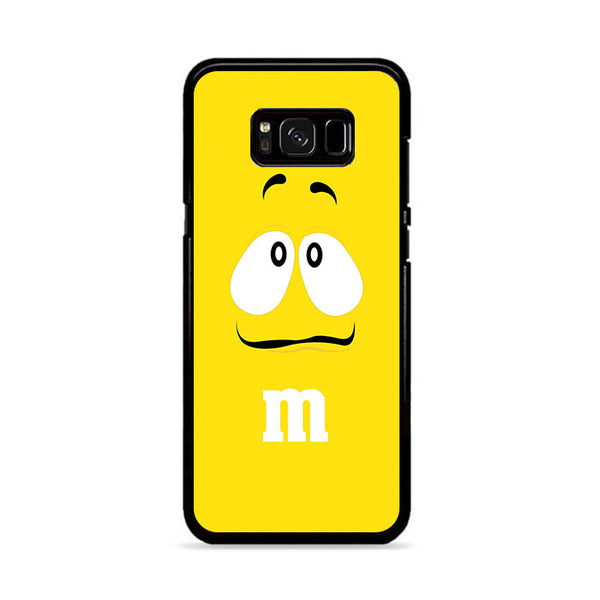 M&M Yellow Face Boring Samsung Galaxy S8 Case