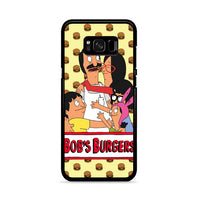 Bobs Burgers With Burgers Pattern_ Samsung Galaxy S8 Plus Case