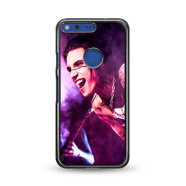 Andy Biersack Performance Google Pixel Case