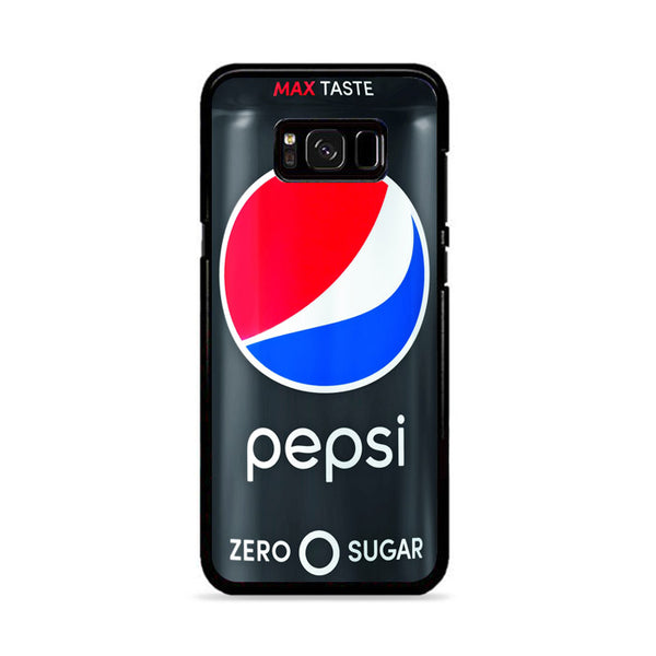 Black Pepsi Can Zero Sugar Max Taste Samsung Galaxy S8 Case