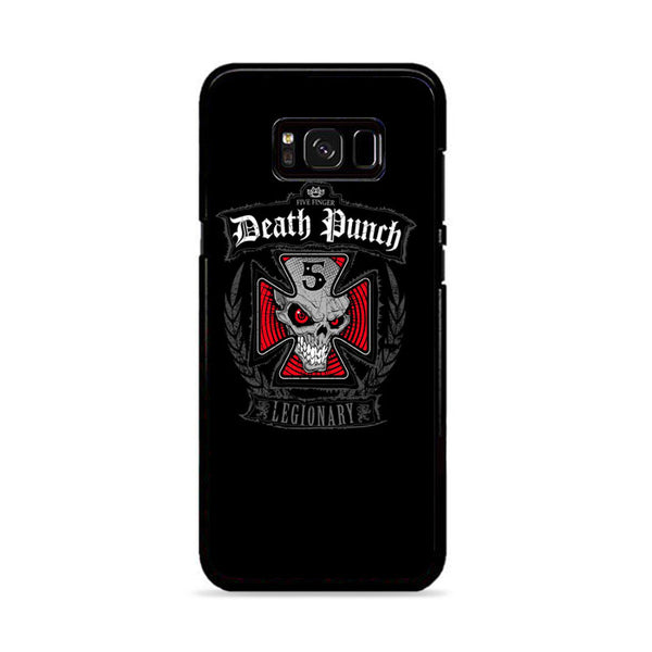 Five Finger Death Punch On Black Samsung Galaxy S8 Case