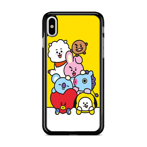 Bt21 All Character iPhone X Case