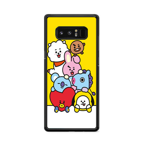 Bt21 All Character Samsung Galaxy Note 8 Case