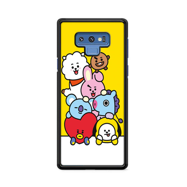 Bt21 All Character Samsung Galaxy Note 9 Case