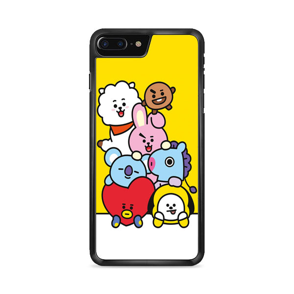 Bt21 All Character iPhone 8 Plus Case