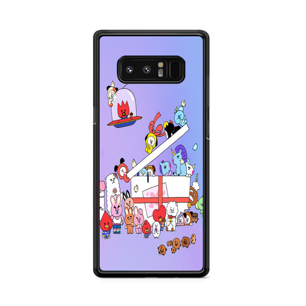 Bt21 Gift Box Surprise Samsung Galaxy Note 8 Case