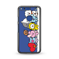 Bt21 Group Maxi Poster Google Pixel XL Case