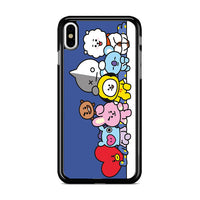 Bt21 Group Maxi Poster iPhone X Case