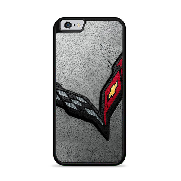 Corvette Water Drop Logo iPhone 6|6S Case