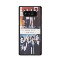Five Sos Real Band Save Fans Samsung Galaxy Note 8 Case