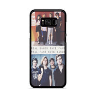 Five Sos Real Band Save Fans Samsung Galaxy S8 Plus Case