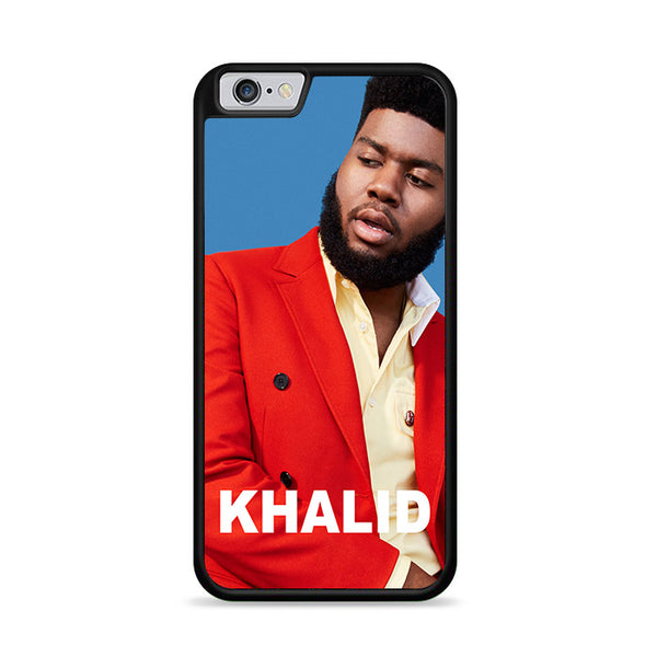 khalid in blue background iPhone 6|6S Case