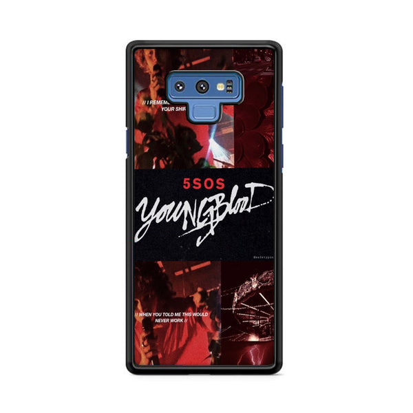 Five Sos Youngblood Samsung Galaxy Note 9 Case