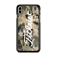 Titleist Illest Camouflage Wallpaper iPhone XS Max Case