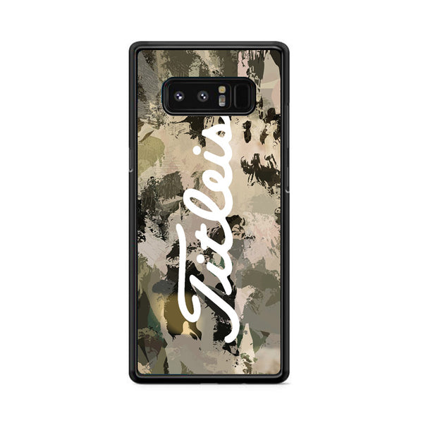 Titleist Illest Camouflage Wallpaper Samsung Galaxy Note 8 Case