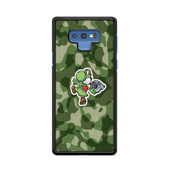Turbo Yoshi Camouflage Wallpaper Samsung Galaxy Note 9 Case