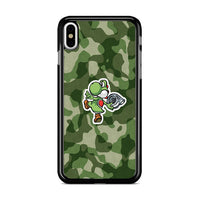 Turbo Yoshi Camouflage Wallpaper iPhone X Case