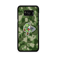 Turbo Yoshi Camouflage Wallpaper Samsung Galaxy S8 Case