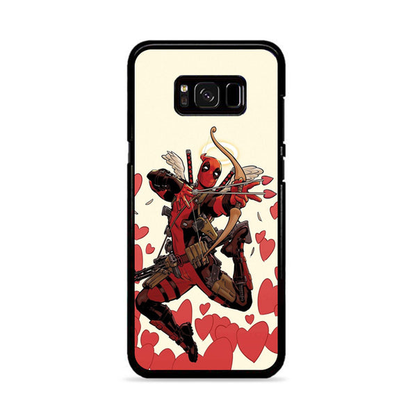 Marvel Comics Attack Deadpool Cupid X Force Samsung Galaxy S8 Plus Case