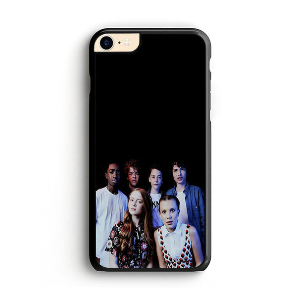 Eleven Dustin Mike Lucas Will And Max Photo Shot iPhone 8 Case