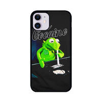 Kermit The Frog Doing Cocaine iPhone 11 Case | Miloscase