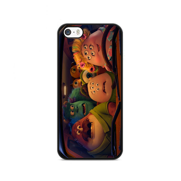 Scott Squishy Squibbles Family In Car iPhone 5|5S|SE Case