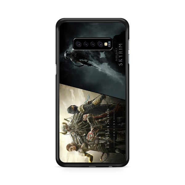 Elder Scrolls Online Vs Skyrim Samsung Galaxy S10 Plus Case
