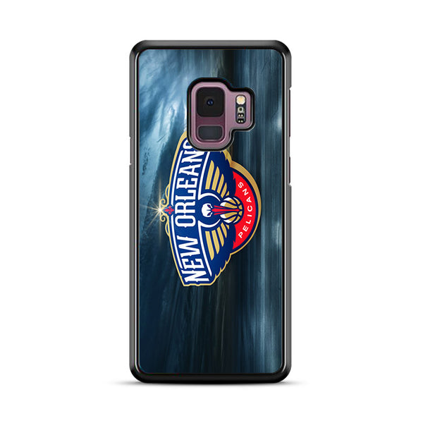 New Orleans Pelicans Basketball Team Wallpaper Samsung Galaxy S9 Plus Case | Miloscase
