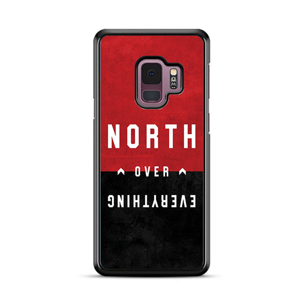 North Over Everything Toronto Raptors Quotes Samsung Galaxy S9 Plus Case | Miloscase