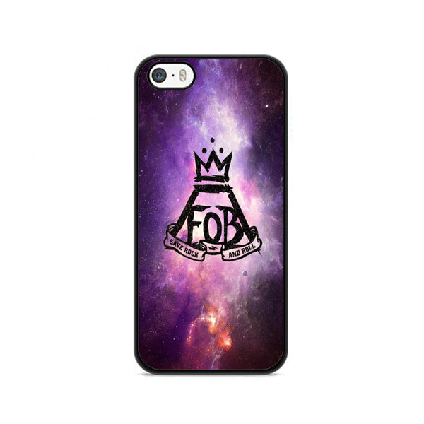 Fob Fall Out Boy Save Rock And Roll Galaxy Nebula iPhone 5|5S|SE Case