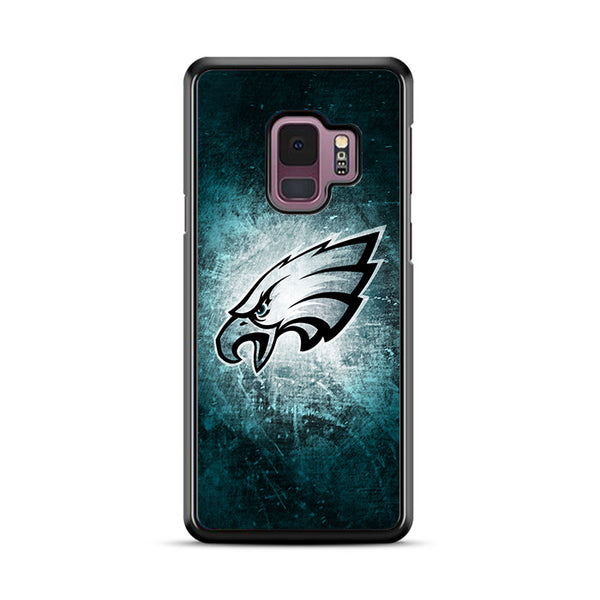 Philadelphia Eagles Grunge Texture Wallpaper Samsung Galaxy S9 Plus Case | Miloscase