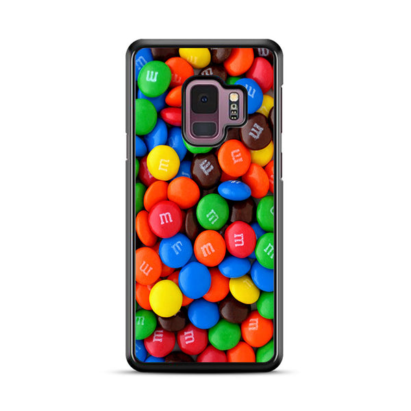 Plain Chocolate M&M Wallpaper Samsung Galaxy S9 Plus Case | Miloscase