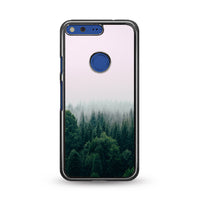 Foggy In Forest Mountain Google Pixel Case