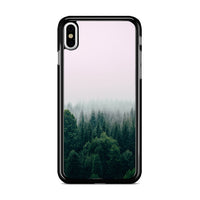 Foggy In Forest Mountain iPhone XS Max Case